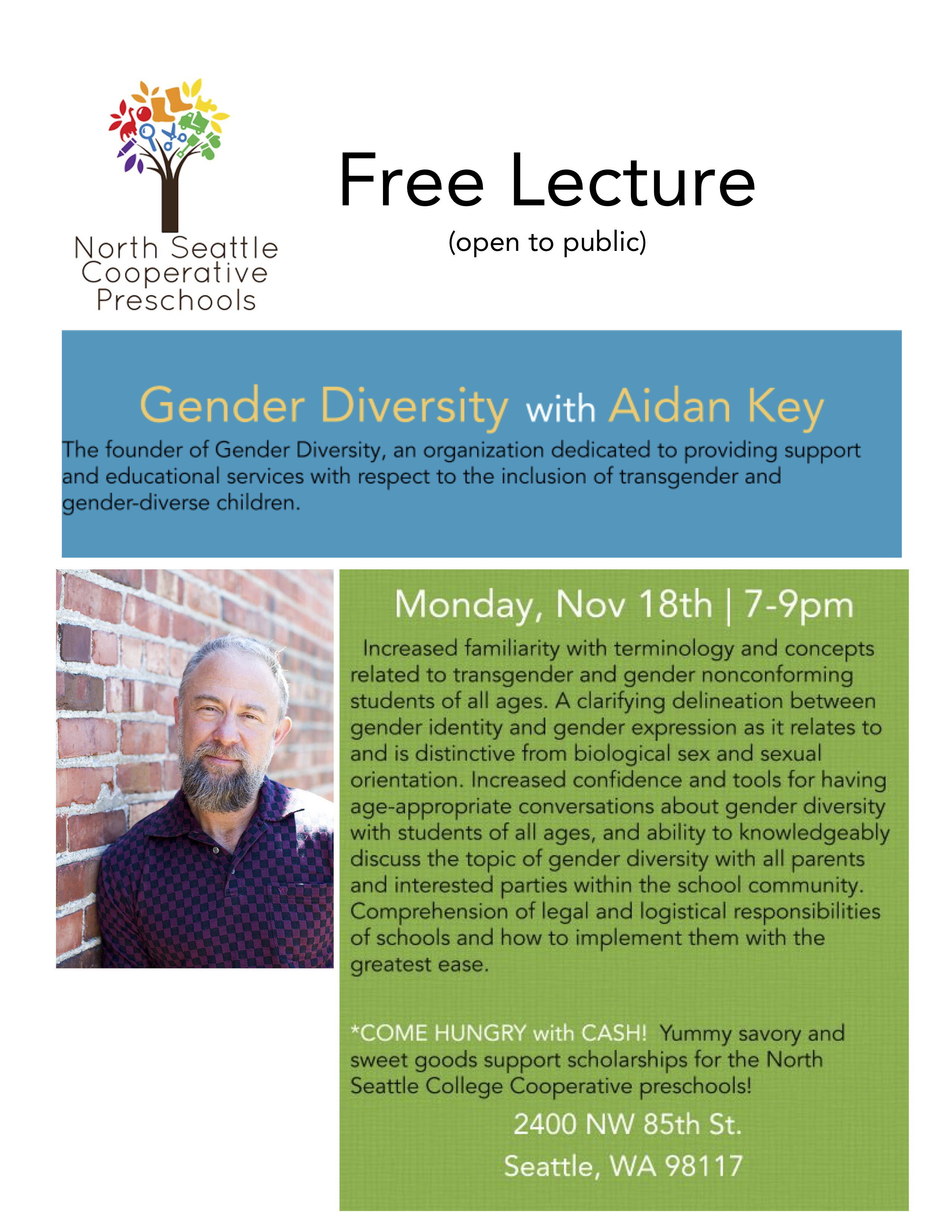 Nov. 18, 2019 Lecture Flyer